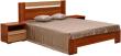 Кровать «Капучино» П416.02-4, Материал: ДСП ламинированная, Цвет: Слива Валлис+капучино глянец (krovat_kapuchino_p416_02-4_3.jpg)