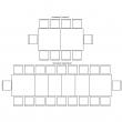 Стол «Гранд 2» П332.02, Цвет: Дуб рустикаль с патинированием