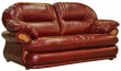 3-х местный диван «Орлеан» (3м) натуральная кожа 150 группа