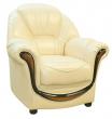 Кресло «Дельта» (12), Материал: натуральная кожа, Группа ткани: 140 группа