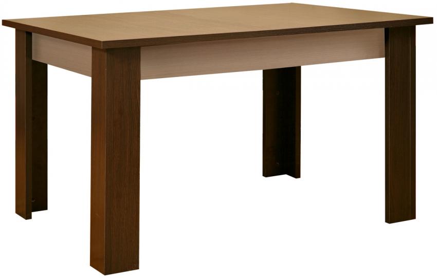 Стол обеденный «Агат 2» П255.09-3, Материал: ДСП ламинированная, Цвет: Венге+дуб Белфорт