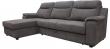 Угловой диван «Люксор»  вар. 3мR.8мL: ткань73+kant79_19gr