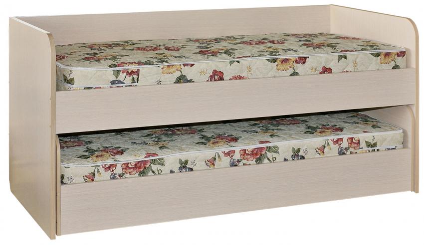 Кровать «Милый Беби» П223.02, Материал: ДСП ламинированная, Цвет: Сосна карелия (krovat_milyi_baby_p223_02.jpg)