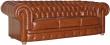 3-х местный диван «Честерфилд» (32) натуральная кожа 150 группа