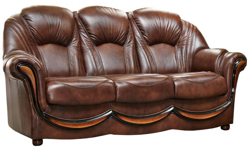 3-х местный диван «Дельта» 3м натуральная кожа 1068_120 группа
