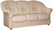 3-х местный диван «Омега» (3м) комбинированный(натуральная кожа  +исскуствю) 115 группа