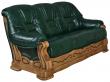 3-х местный диван «Консул 21» (3м), Материал: натуральная кожа, Группа ткани: 120 группа