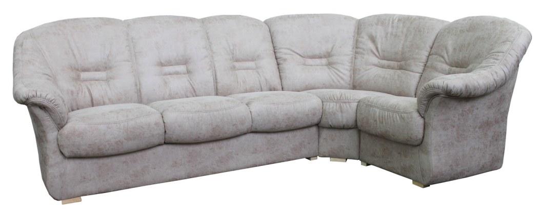 Угловой диван «Омега» вар. 3mL.90.1R: ткань: 495_20 группа