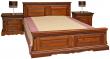 Кровать двойная «Милана» высокое изножье, Цвет: Черешня, Спальное место: 2000x1600 мм, Размер: 2187x1772x1035 мм (krovat_dvoinaya_milana_16_p294_05m_chereshnya_2.jpg)