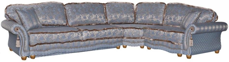 Угловой диван «Латина» вар   3mL.90.1R,ткань 284_ 22 группа