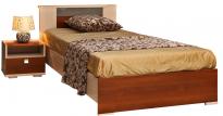 Кровать одинарная Квадро