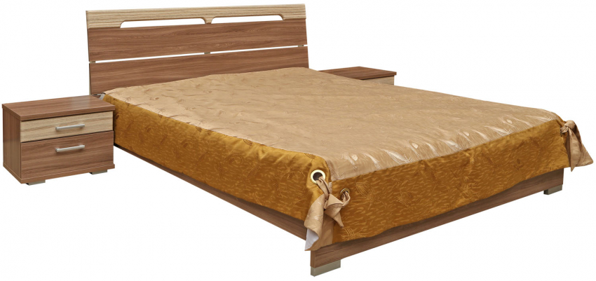 Кровать двойная «Анастасия» П359.05, Материал: ДСП ламинированная, Цвет: Ясень Шимо (krovat_dvoinaya_anastasiya_p359_055a17e34c2bd1c.jpg)