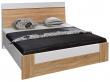 Кровать «Комфорт» П400.02-3, Материал: ДСП ламинированная, Цвет: Дуб Сонома+серый (krovat_komfort_p400_02-3_3.jpg)