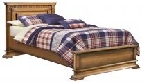 Кровать одинарная Верди Люкс с низким изножьем