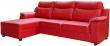 Угловой диван «Люксор»  вар. 3мR.8мL:  кожа нат10163+kant895_120 группа.