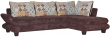 Угловой диван «Рейн 1» вар 3mL.5mR: ткани 796+1005_20 группа