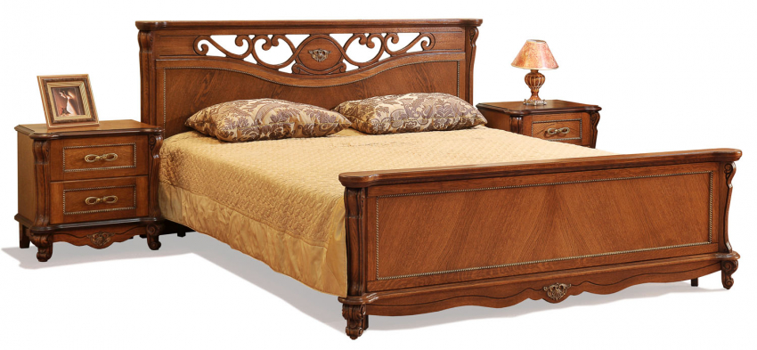 Кровать двойная «Алези» с высоким изножьем, Цвет: Античная бронза, Спальное место: 2000x1600 мм, Размер: 2150x1852x1045 мм (krovat_dvoinaya_alezi_16_p349_16_antichnaya_bronza.jpg)