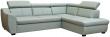 Угловой диван «Мехико» вар 2mL.5mR:  кожа  3343_120 группа