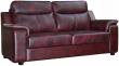3-х местный диван «Люксор»(3м) комбинированный(кожзам +натуральна кожа)115 группа