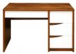 Стол письменный «Монако» П510.15-1, Цвет: Дуб Саттер+Белый глянец