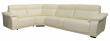 Угловой диван «Исландия»  вар 3mR.90.1L: натуральная кожа_3051_120 группа