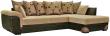 Угловой диван «Мальта 1» вар. 3mL.6mR:  ткани:433-96-923-923_23 группа