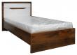 Кровать одинарная «Монако» П528.11, Цвет: Дуб Саттер+Белый глянец (krovat_monako_p528_115c8f47a7da0db.jpg)