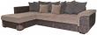 Угловой диван «Мальта 1» вар. 3mR.6mL:  ткани:718_493+30801+30802+502_20 группа