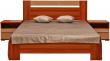 Кровать «Капучино» П416.02-4, Материал: ДСП ламинированная, Цвет: Слива Валлис+капучино глянец (krovat_kapuchino_p416_02-4_2.jpg)