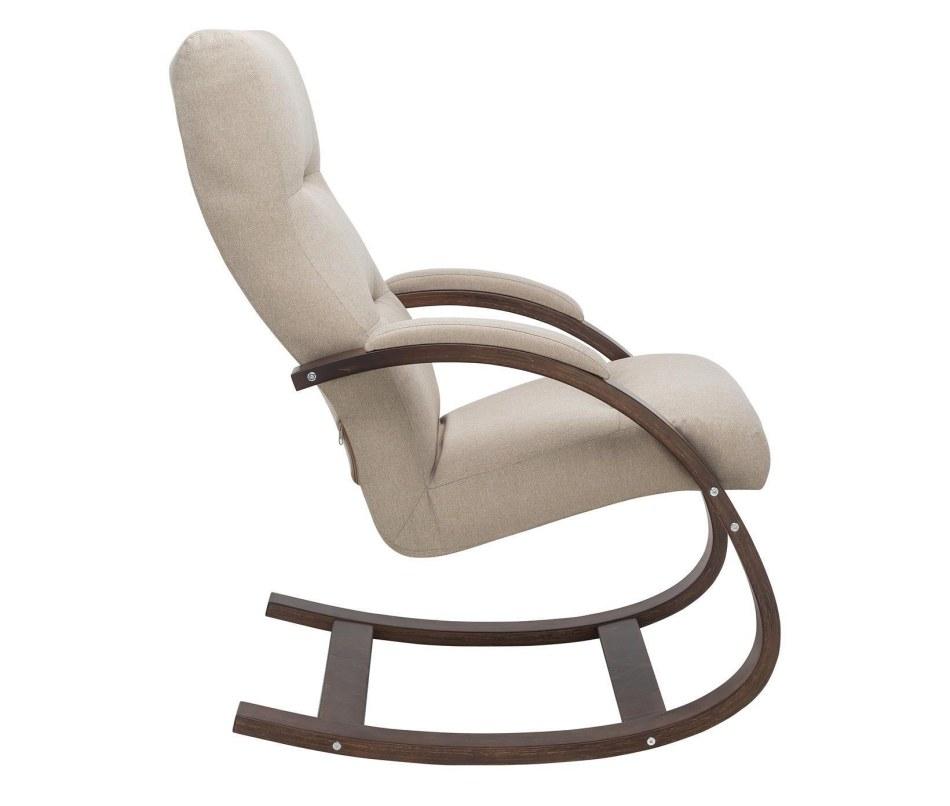 Кресло-качалка Милано  ткань _Malmo05_орех