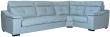 Угловой диван «Барселона» вар 3mL.90.1R: натуральная кожа 3343_120 группа