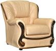 Кресло «Изабель 2» (12), Материал: натуральная кожа, Группа ткани: 120 группа