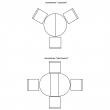 Стол «Милана 12А» П318.08, Цвет: Черешня