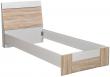 Кровать «Комфорт» П400.02-2, Материал: ДСП ламинированная, Цвет: Дуб Сонома+серый (krovat_komfort_p400_02-2_3.jpg)