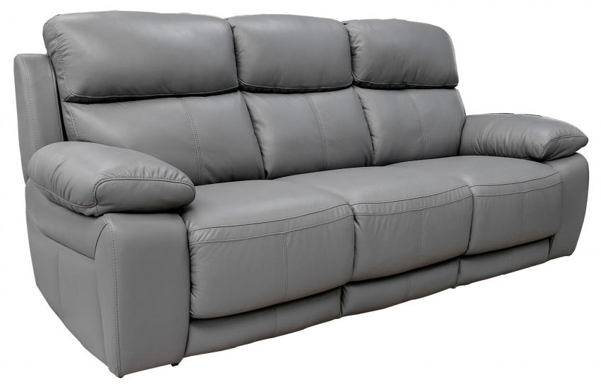 3-х местный диван «Верона» : ткань, кожзам.