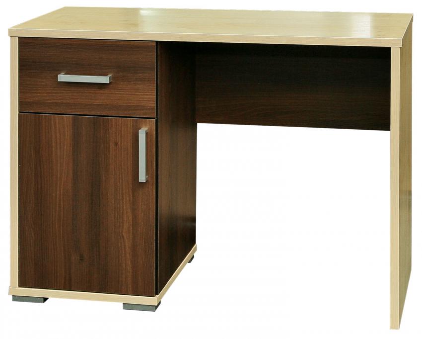 Стол «Эльба» П232.41, Материал: ДСП ламинированная, Цвет: Акация темная+клен танзау