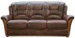 3-х местный диван «Леонардо 2» (3м) натуральная кожа 120 группа