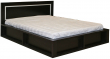 Кровать двойная «Луксор» П475.05, Цвет: Мокко (krovat_luxor_p475_05_mokko.jpg)