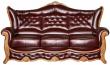 3-х местный диван «Патриция» (3м) натуральная кожа 140 группа