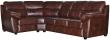 Угловой диван «Плаза» вар. 3mR.90.1L::  кожа натур+искуств,1068-4069_115 группа