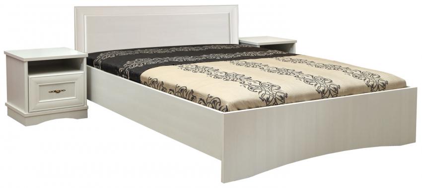 Кровать двойная «Турин» П036.121М, Материал: ЛДСП+МДФ, Цвет: Сосна карелия (krovat_dvoinaya_turin_p036_121_white-1.jpg)