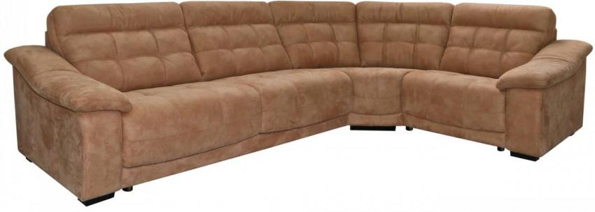 Угловой диван «Мирано» вар. 3mL.90.1R: ткань 500_ 22 группа