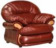 Кресло «Орлеан» (12), Материал: натуральная кожа, Группа ткани: 150 группа