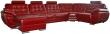 Угловой диван «Редфорд» вар. 1R.90.30m.8mL:натуральная кожа_3236_150 группа