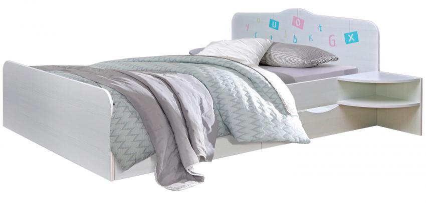 Кровать двойная «Соната» П439.38Д15, Цвет: Принт «Буквы», Спальное место: 2000x1600 мм (krovat_sonata_p439_38_25acdfe94b1949.jpg)