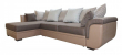Угловой диван «Мальта 1» вар. 3mR.6mL:  ткани:786(0)+134+782+783(0)+134_20 группа