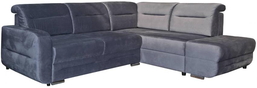 Угловой диван «Фреш» вар.2mL.5mR: ткань : 19 группа