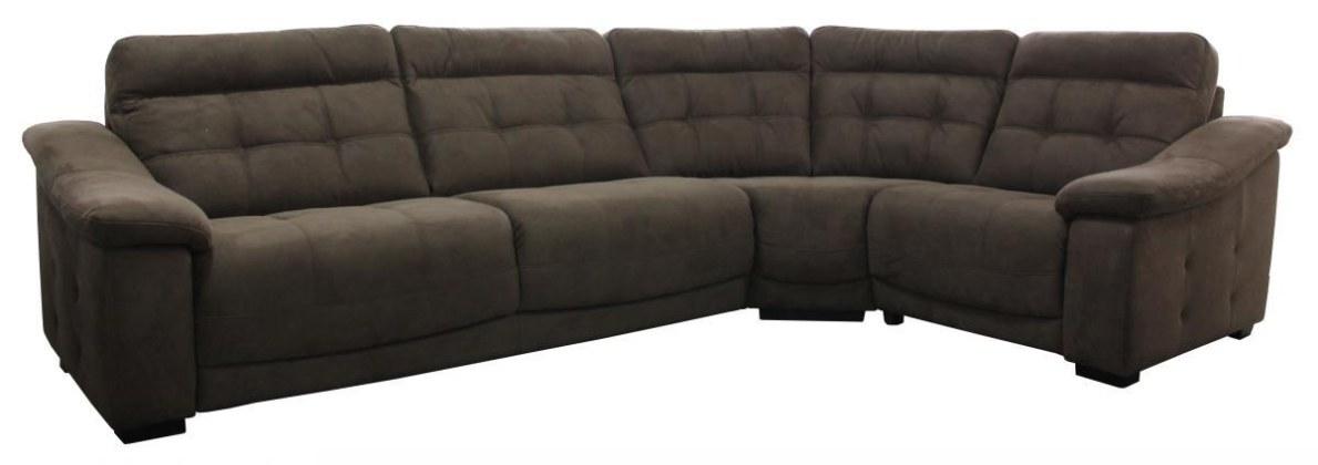Угловой диван «Мирано» вар. 3mL.90.1R: ткань  22 группа