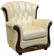 Кресло «Европа» (12), Материал: натуральная кожа, Группа ткани: 140 группа