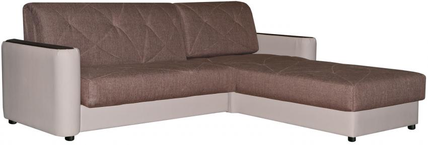 Угловой диван «Мирида» вар. 2mL.6mR: ткани: 19 группа
